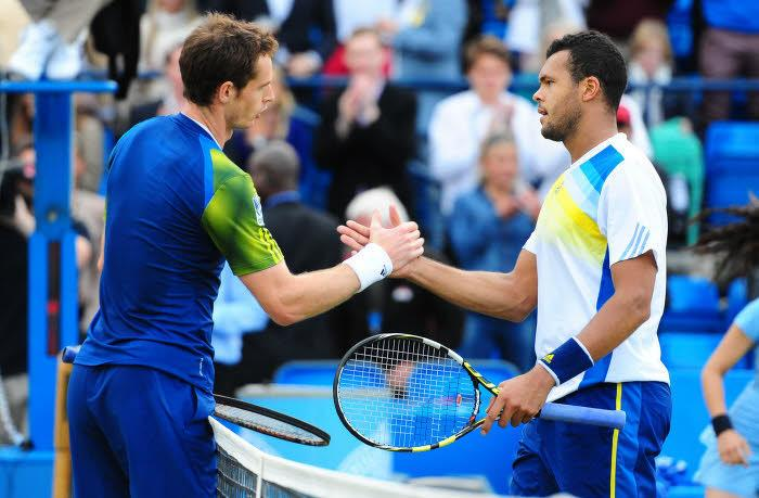 Jo-Wilfried Tsonga et Andy Murray