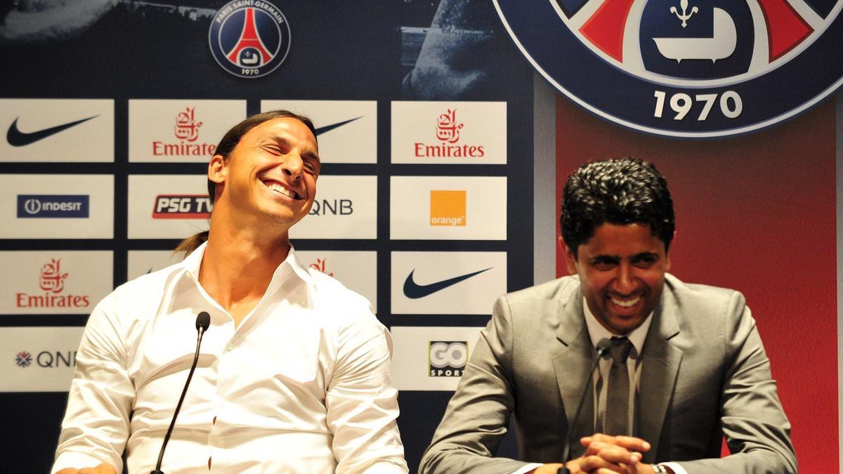 PSG - Al-Khelaïfi : «Ibrahimovic est la personne la plus drôle que j'ai rencontrée…»
