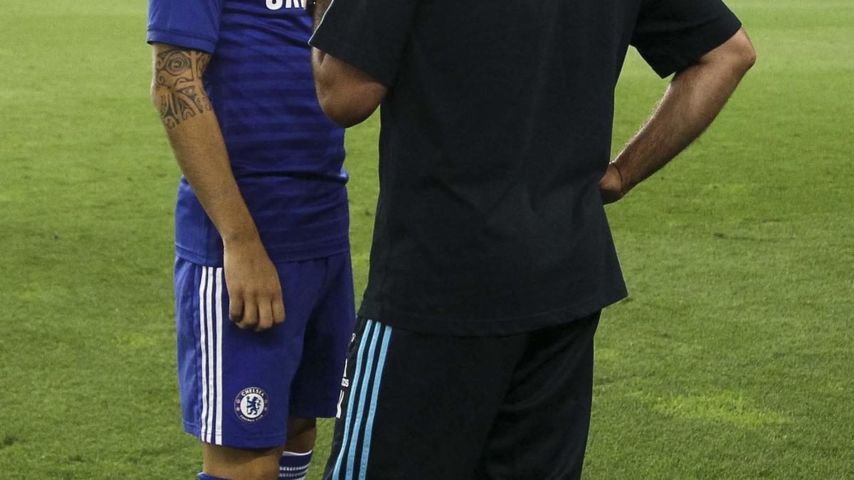 Cesc Fabregas & José Mourinho