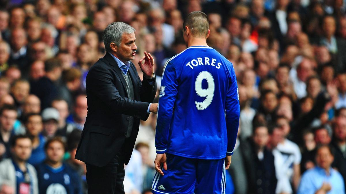 José Mourinho & Fernando Torres