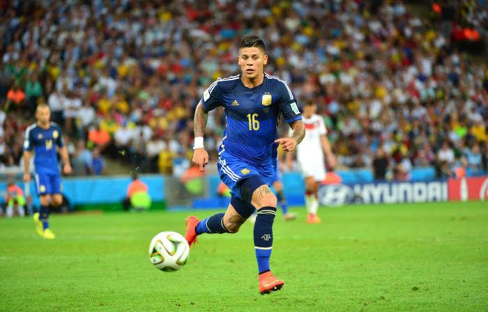 Marcos Rojo, Argentine