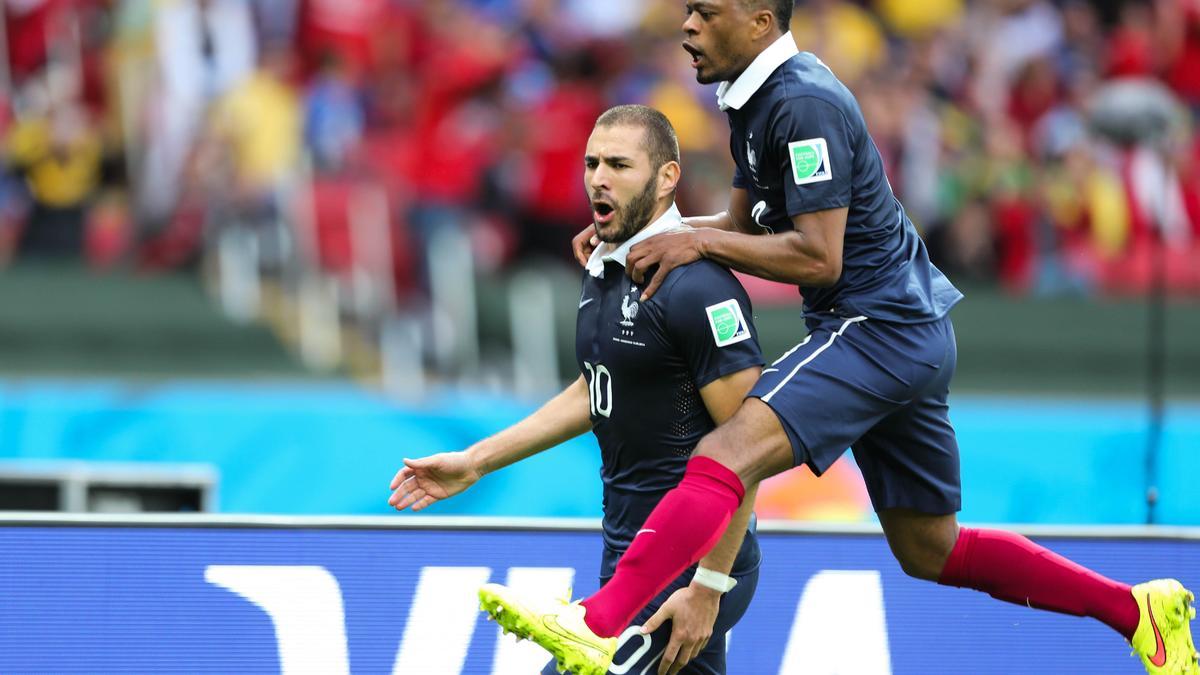 Karim Benzema - Patrice Evra