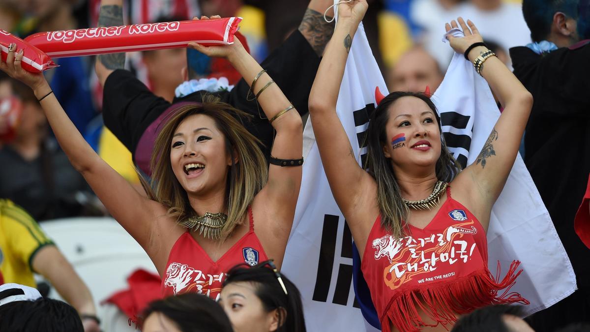 Supportrices Corée du Sud
