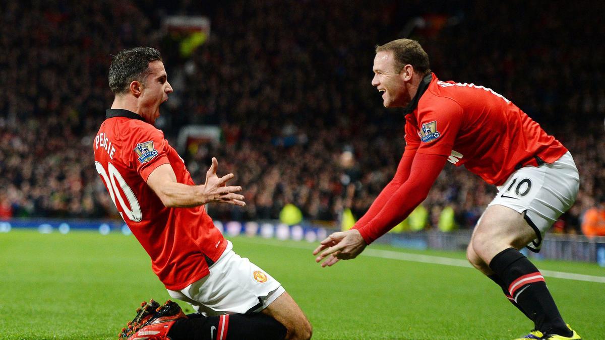 Robin Van Persie - Wayne Rooney, Manchester United