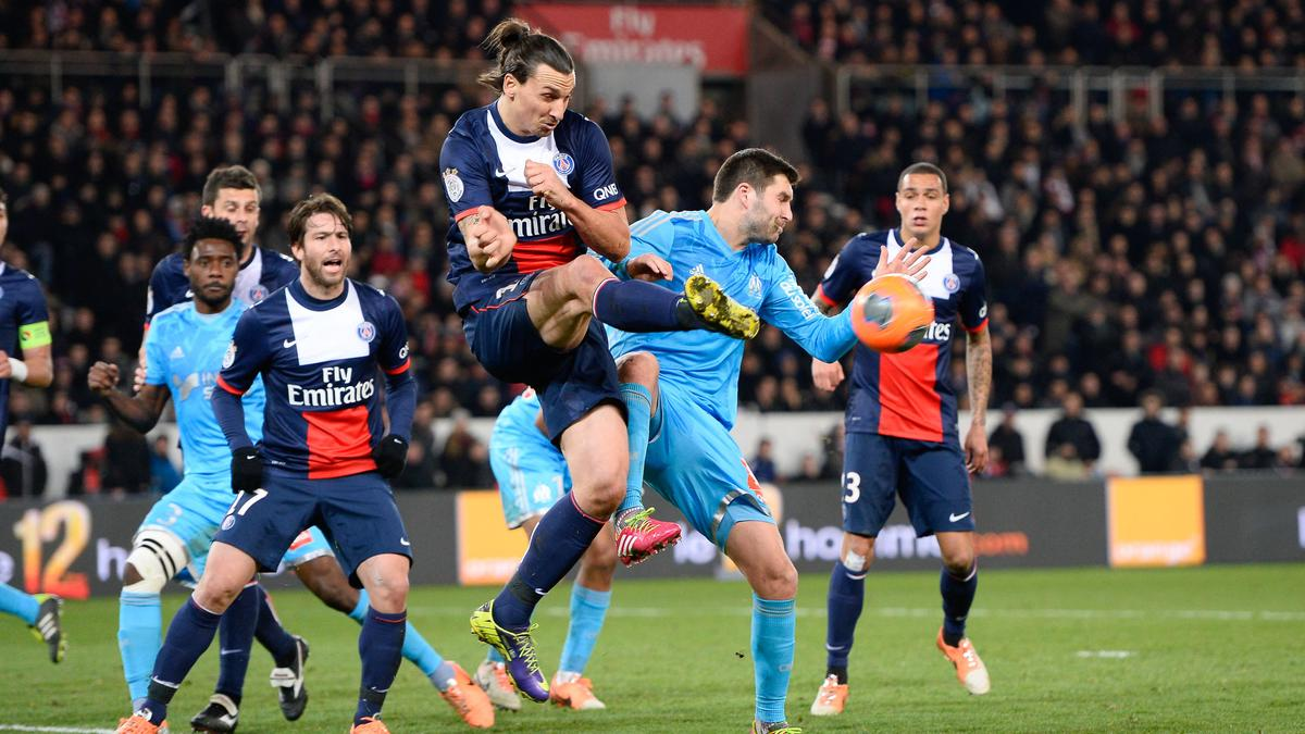 Zlatan Ibrahimovic, André-Pierre Gignac, PSG/OM