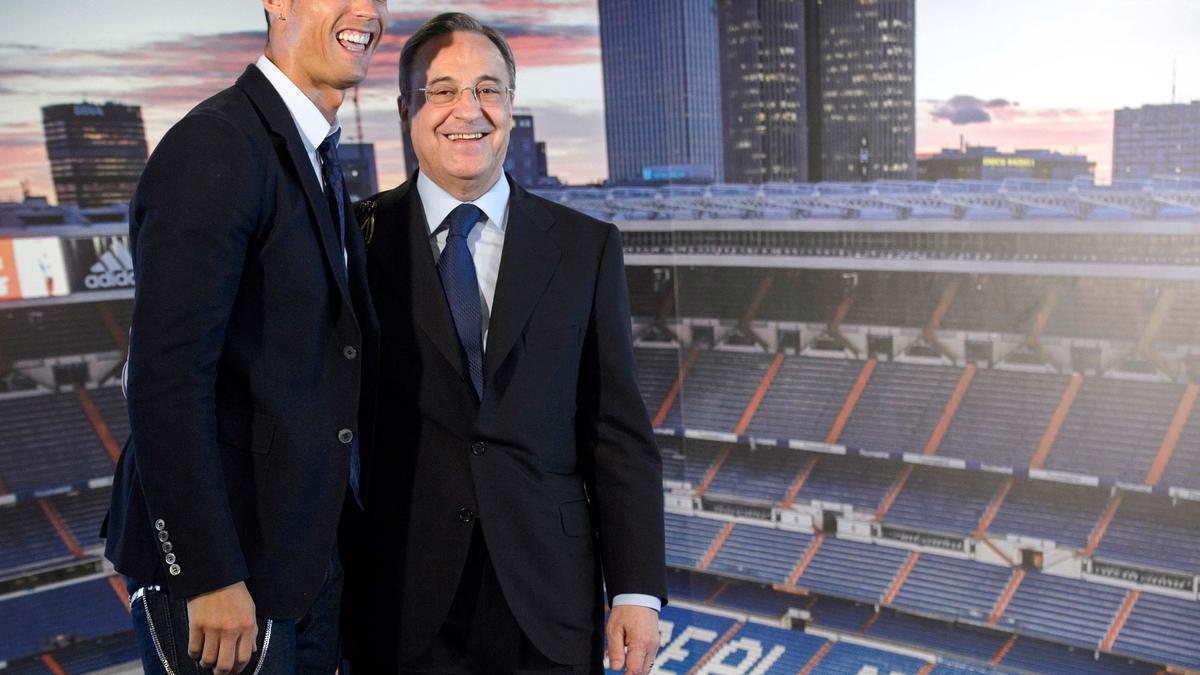 Cristiano Ronaldo a parlé de Manchester United au président Pérez !