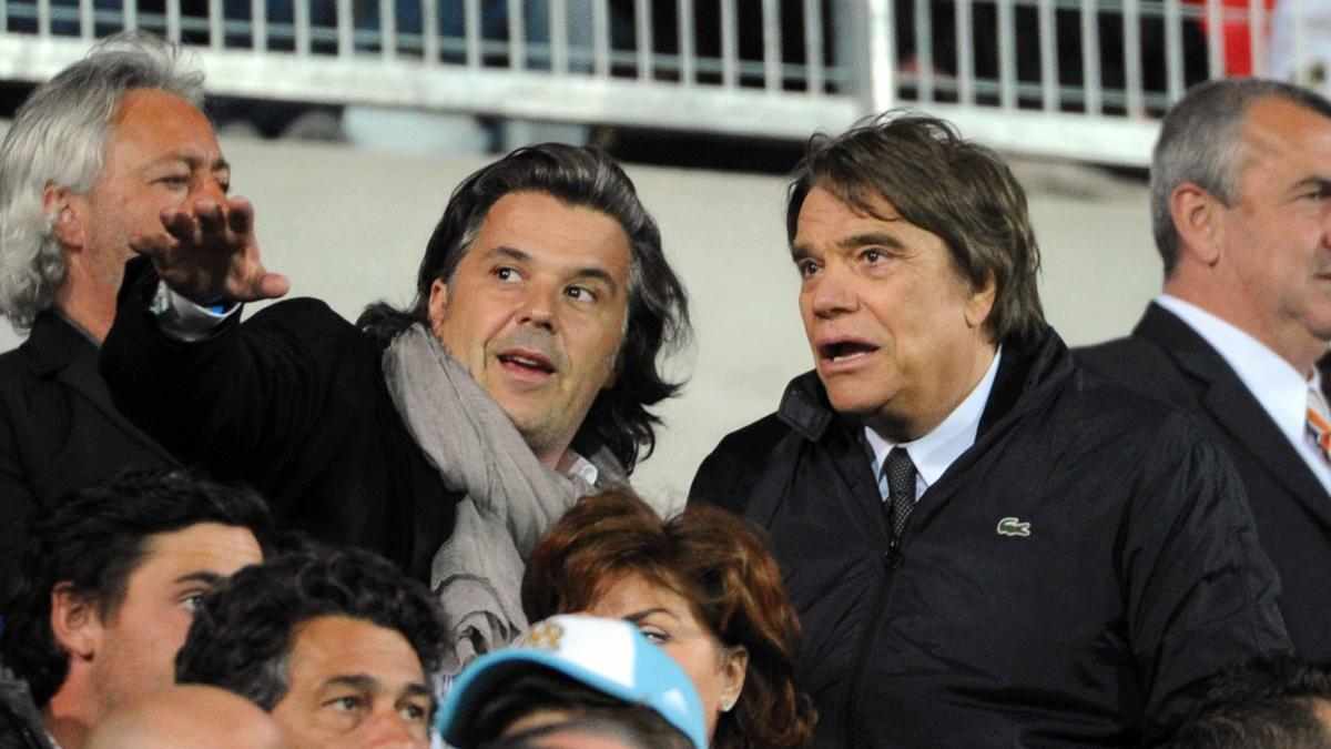 Vincent Labrune et Bernard Tapie