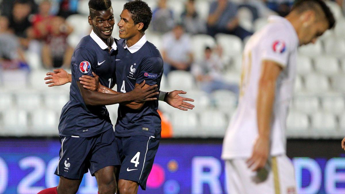 Paul Pogba & Raphaël Varane