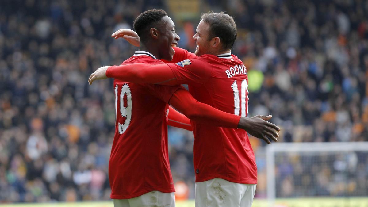 Danny Welbeck & Wayne Rooney