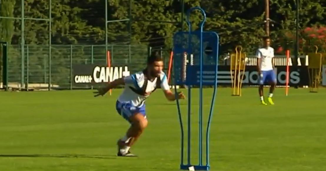 OM : Alessandrini régale à l'entraînement (vidéo)