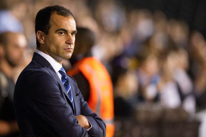 Roberto Martinez, Everton