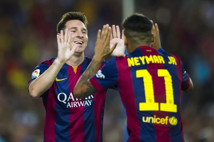 Lionel Messi, Neymar, Barcelone