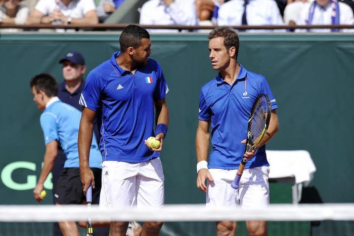 Tennis - Coupe Davis : Le double Gasquet/Tsonga envoie la France en finale !