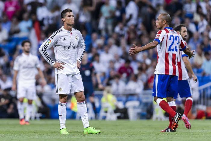 Le coup de coude de Cristiano Ronaldo