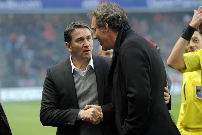 Philippe Montanier et Laurent Blanc