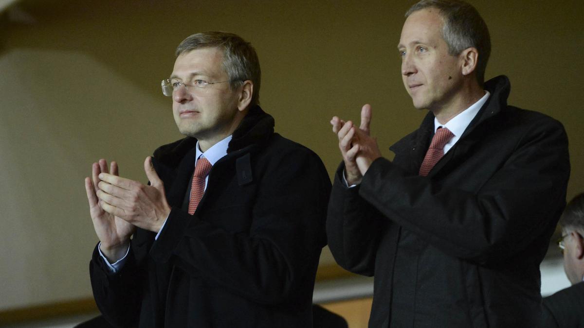 Dmitry Rybolovlev & Vadim Vasilyev