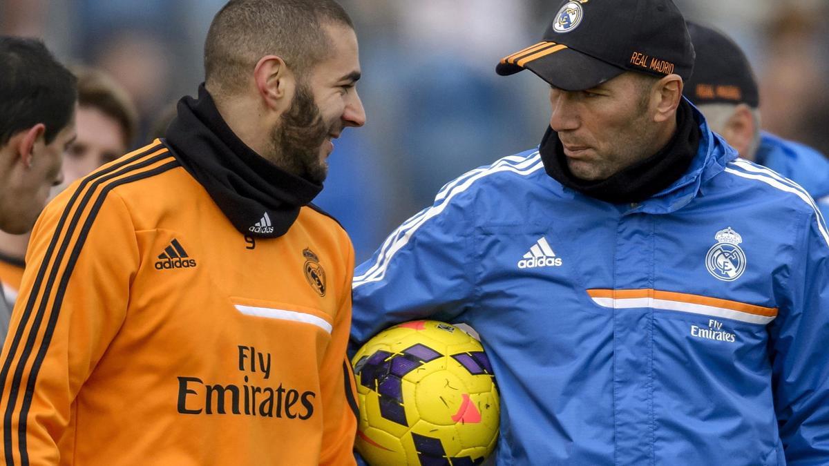 Zidane ne comprend pas les sifflets contre Benzema