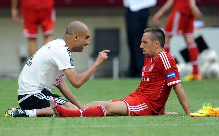 Bayern Munich : Révélations sur un malaise entre Ribéry et Guardiola !