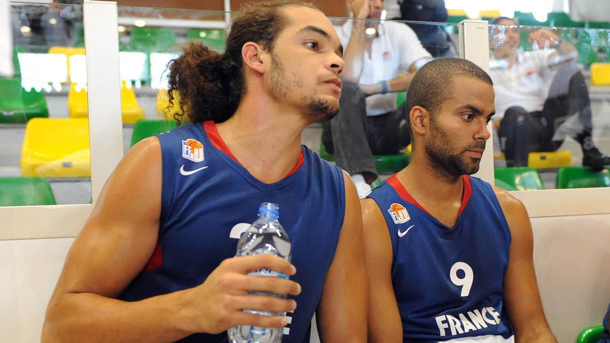 Joakim Noah & Tony PArker