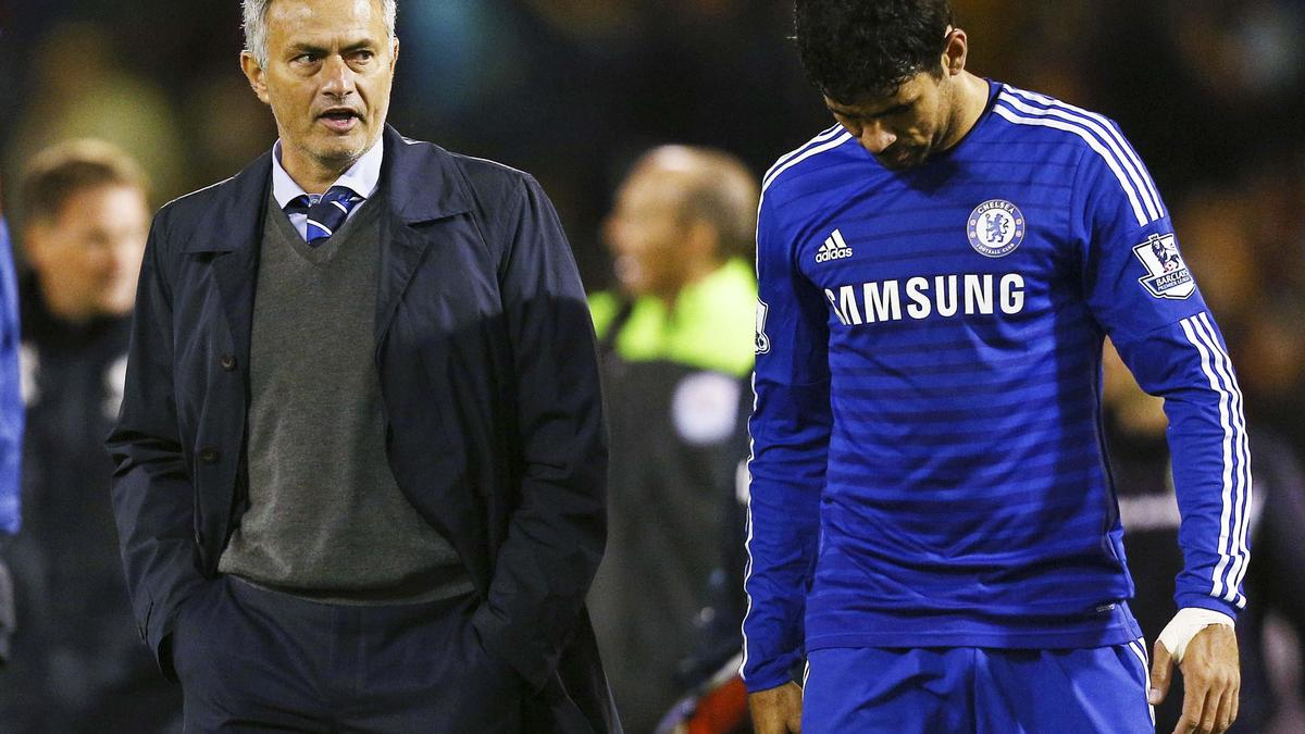 José Mourinho et Diego Costa, CHelsea
