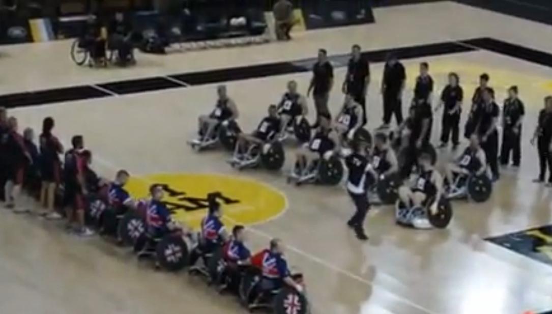 Handisport : Le haka des Néo-Zélandais avant un match de basket fauteuil (vidéo)