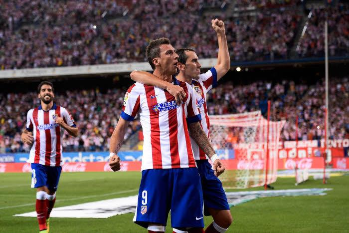 Mario Mandzukic, Atlético Madrid