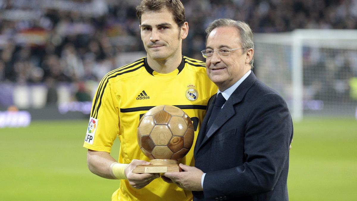 Iker Casillas & Florentino Pérez