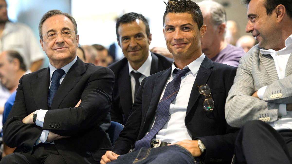 Florentino Pérez & Cristiano Ronaldo