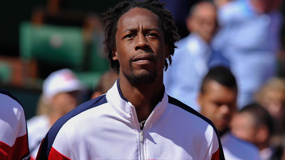 Tennis - Coupe Davis - Monfils : �Je suis l'un des seuls � pencher pour le dur�
