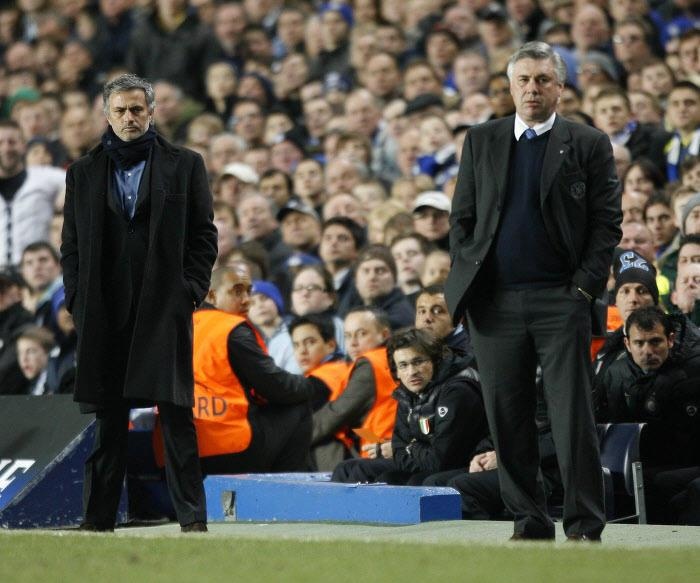 real madrid chelsea carlo ancelotti et ses differences avec jose mourinho