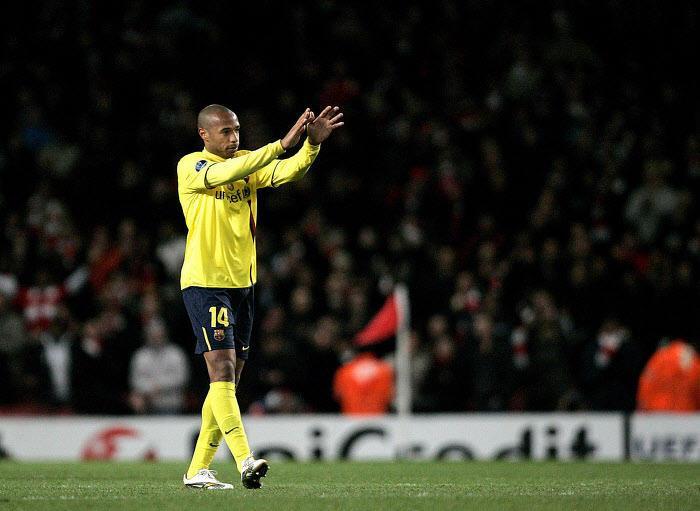 Mercato - Barcelone : L'étrange clause du contrat de Thierry Henry au Barça…