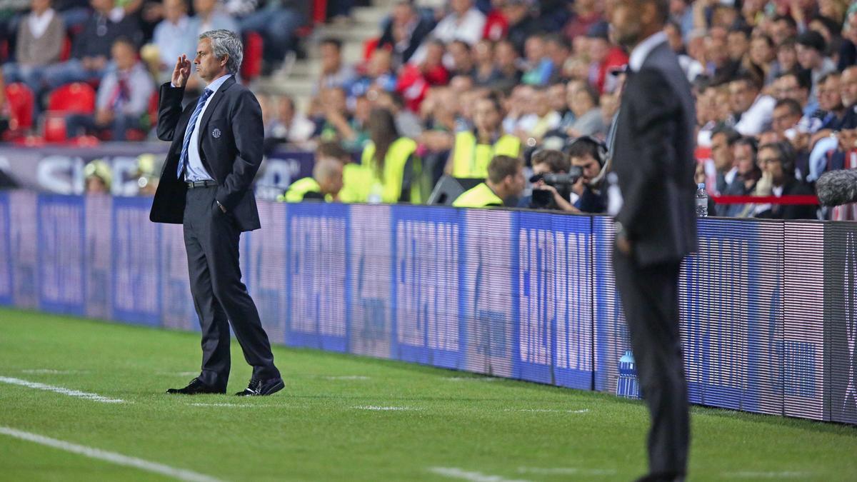 José Mourinho & Pep Guardiola