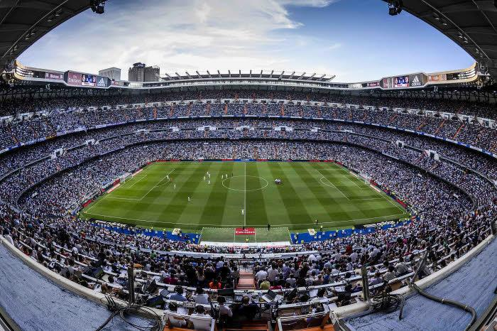 Le Stade Santiago Bernabeu