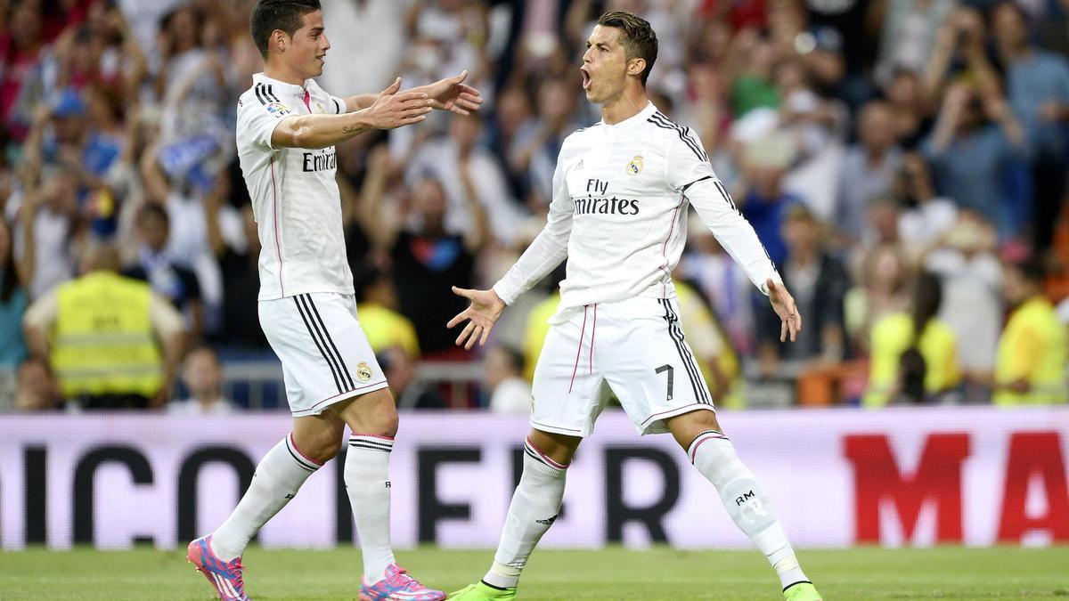 James Rodriguez & Cristiano Ronaldo, Real Madrid