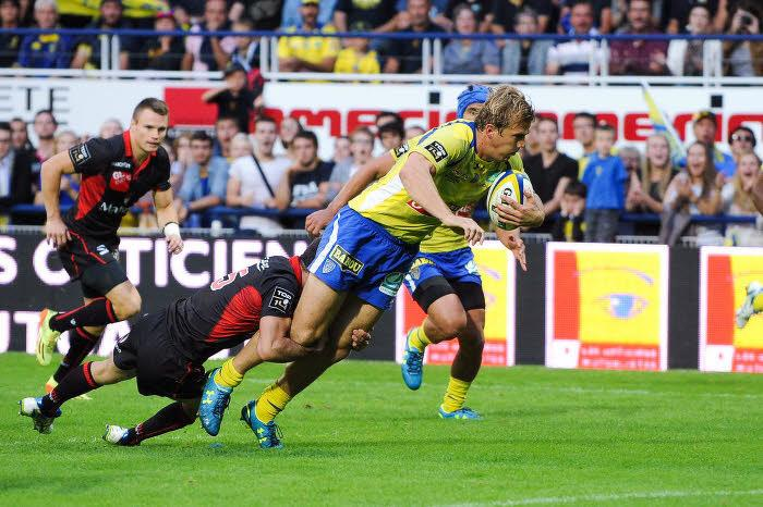 Rugby - Top 14 : Clermont assure, Castres se rassure