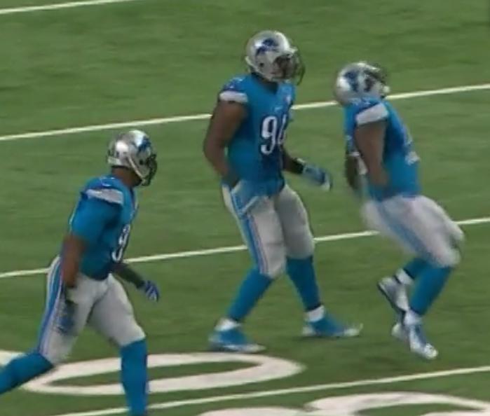 Insolite : Un joueur de NFL se blesse en célébrant une action ! (vidéo)