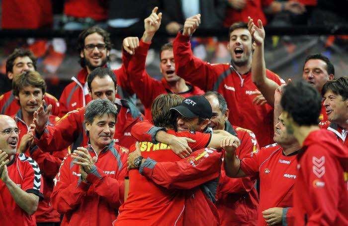 Joueurs de l'équipe d'Espagne de tennis