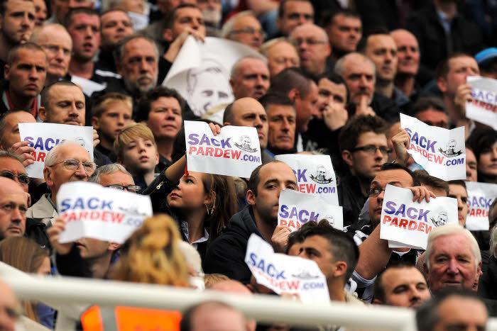 Supporters de Newcastle