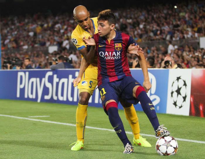 Munir, FC Barcelone