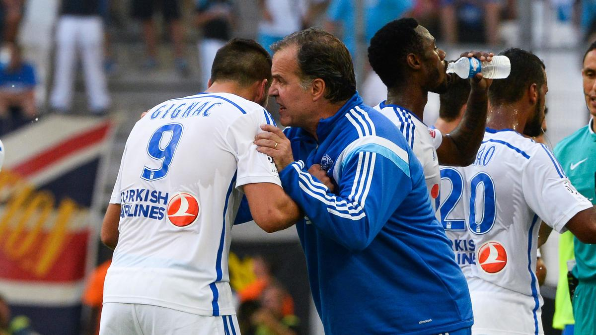André-Pierre Gignac & Marcelo Bielsa, OM