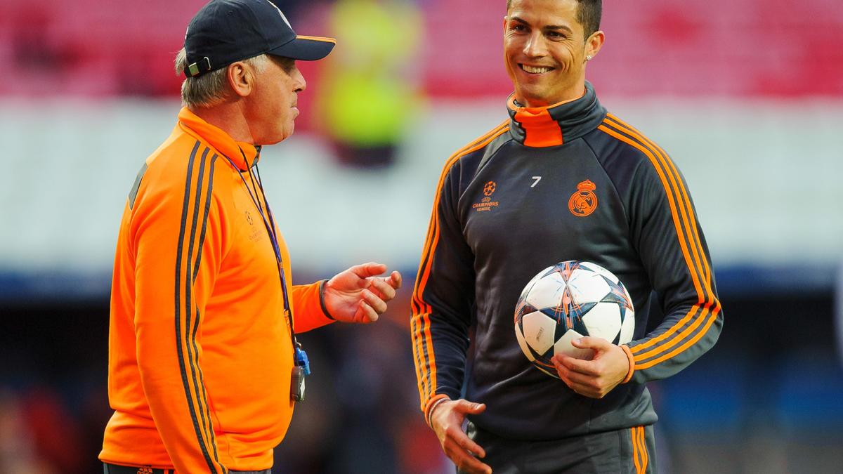 Carlo Ancelotti - Cristiano Ronaldo, Real Madrid
