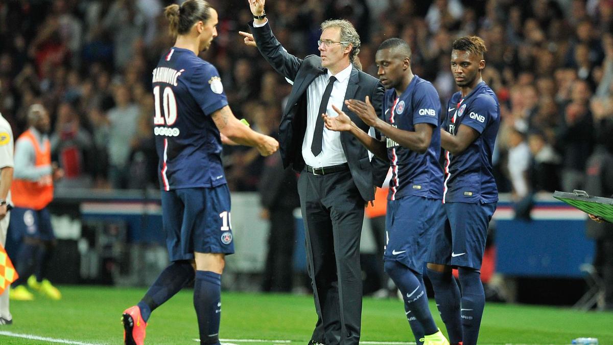 Laurent Blanc, Zlatan Ibrahimovic, PSG