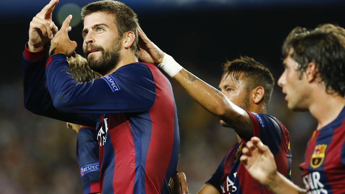 Gerard Pique, FC Barcelone