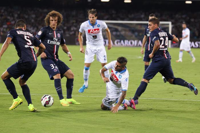 David Luiz, Marco Verratti, PSG