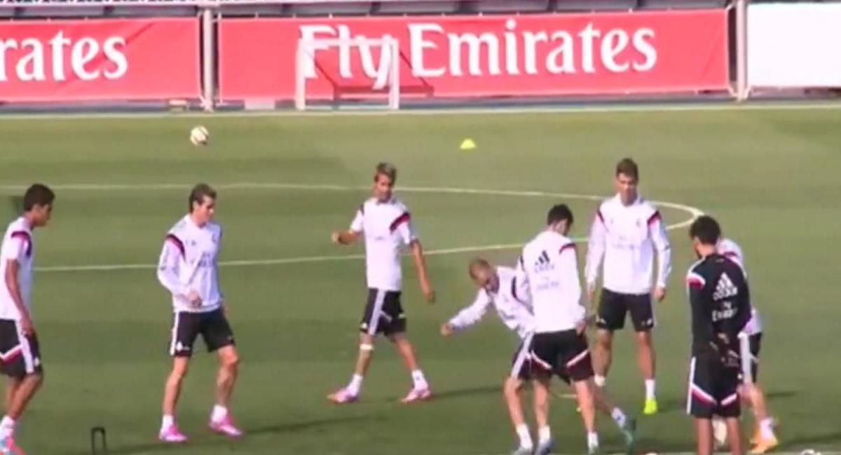 Real Madrid : Bale allume Modric à l'entraînement ! (vidéo)