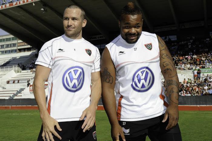 Matt Giteau et Mathieu Bastareaud, RC Toulon