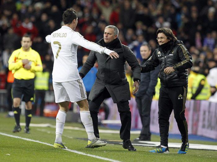 Cristiano Ronaldo - José Mourinho