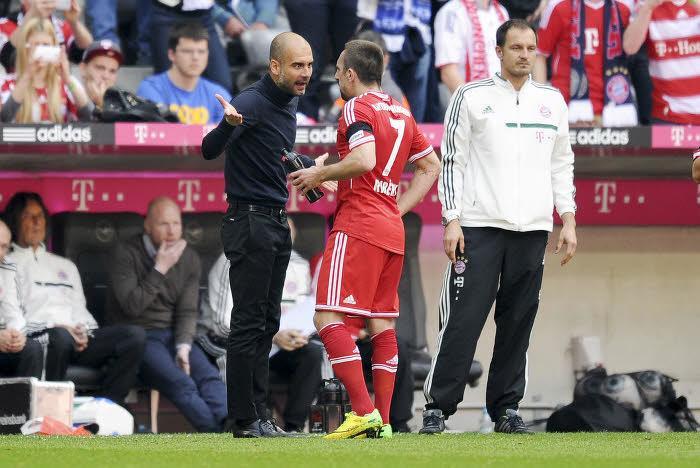 Franck Ribéry, Bayern Munich, Guardiola