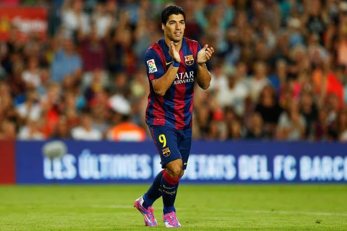 Luis Suarez au FC Barcelone