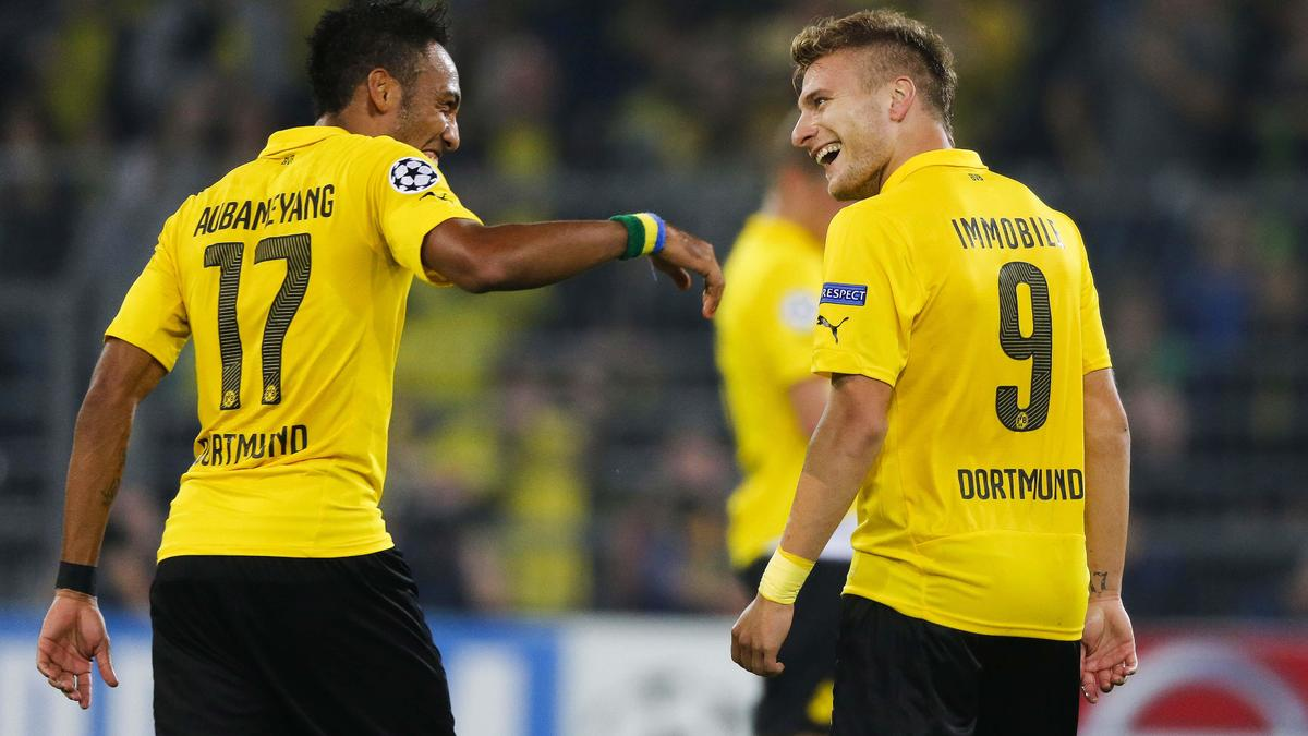 Pierre-Emerick Aubameyang & Ciro Immobile